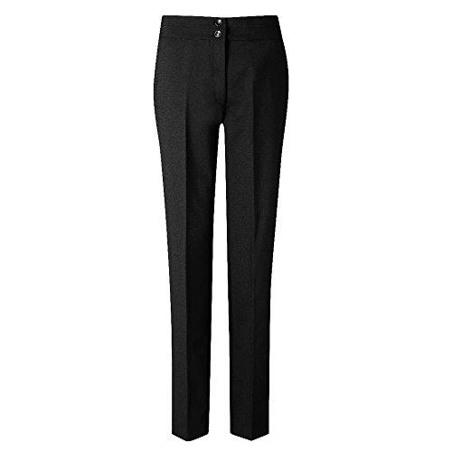 Mujer Carla Modelo Skopes Para Pantalones Formales De Talle Negro Estrecho xn8ATqF