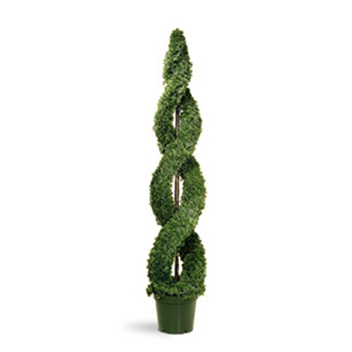 Potted Artificial Double Topiary Tree product image