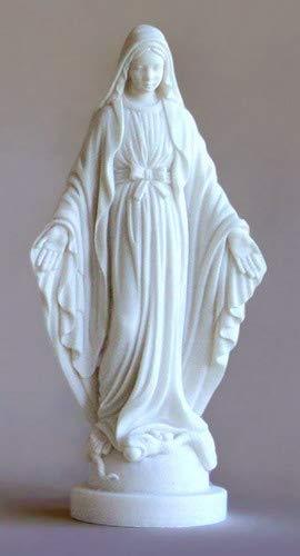 Statue Statuette de la Tr/ès Sainte Vierge Marie Miraculeuse Rue du bac H 17 CM Cadeau Communion