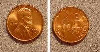 1934-D - CHOICE UNCIRCULATED RED - LINCOLN WHEAT CENT (VERY HARD TO - In Stores Road Lincoln