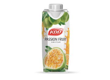 KDD Passion Fruit Juice 250ml (18 Pack)