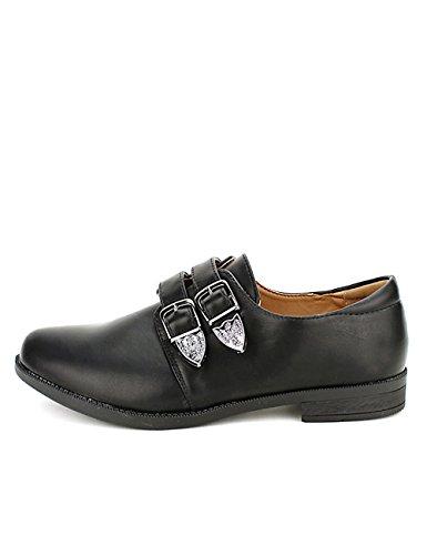Derbies Femme Noires Cendriyon DEKANOS Chaussures dgfWaq