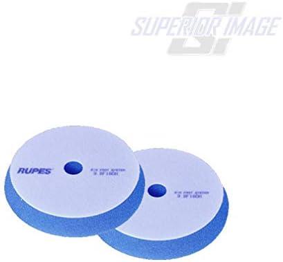 2 7inch 180 mm Rupes Blue Coarse Pad