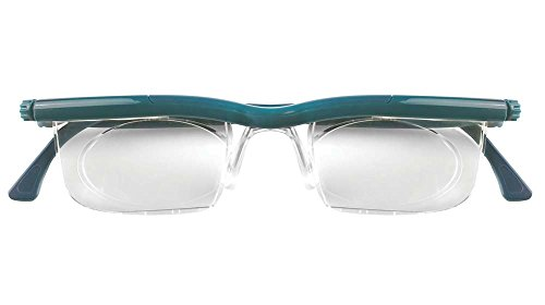 Adlens EM02-TEAL Adjustables Teal Frame With Clear - How To Adjust Frames Glasses
