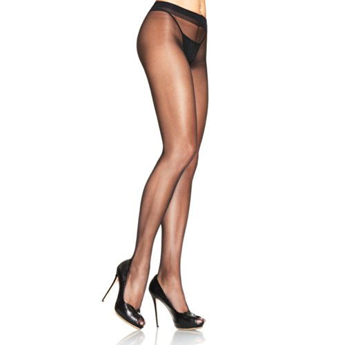 Leg Avenue NWT 0907 Lycra Sheer To Waist Support Pantyhose ()