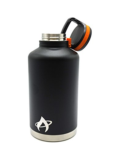 Aura Outdoor Products Double Wall Vacuum Insulated Bottle - 64oz - Keeps hot or cold for hours