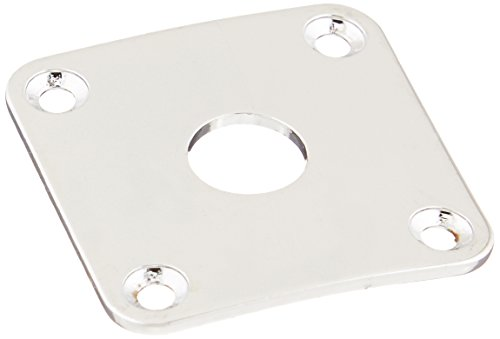 WD Music JCB4C Square Jackplate Chrome