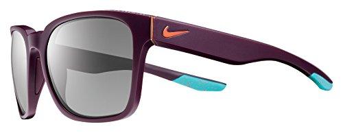Copper Golf Sunglasses - Nike EV0874-608 Recover Sunglasses (One Size), Matte Deep Burgundy/Copper Flash, Grey Lens