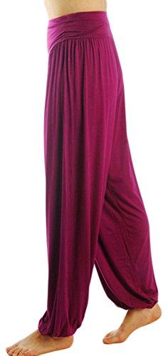 bc0ead8e96 AvaCostume Womens Modal Cotton Soft Yoga Sports Dance Harem Pants ...