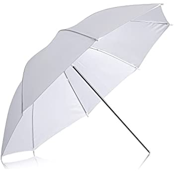 "Neewer Professional 33""/84cm White Translucent Reflector Umbrella for Photography Studio Light Flash"