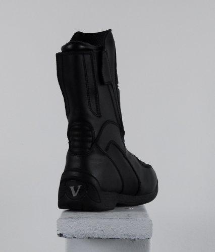 Boots 11 Vega Touring Black Motorcycle Size Women's O4AAZBFqw