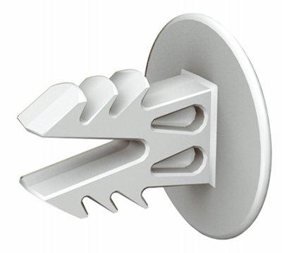 CLOSETMAID 7563800 Hang Bar Endcap (2 Pack) (Closet Rod End Caps)