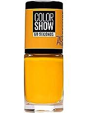 Maybelline New York Make-up Nailpolish Color Show Nagellak, ultra glanzende kleur lak in helder groen, 1 x 7 ml