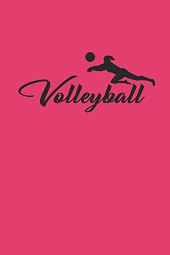 VOLLEYBALL: Notizbuch für Volleyball Spieler Notebook Journal 6x9 lined por Kathy Ballove