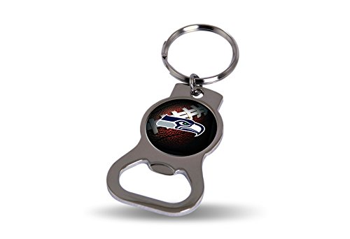 Rico Seattle Seahawks Official NFL 3 inch Bottle Opener Key Chain Keychain 748715