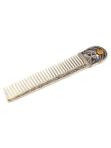 Silver Hair comb with Zodiac Horoscope Astrology Sign ''Aquarius'' by Sribnyk - Gallery of Silver Art