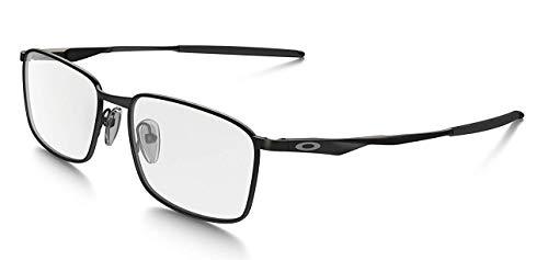 Oakley Wingfold OX5100-0154 Satin Black Square Metal Eyeglasses 54mm