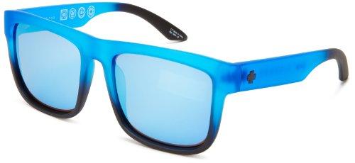 18e14e9cef2cb2 Spy Lunettes de soleil Discord Bleu mat Noir  Amazon.fr  Sports et Loisirs