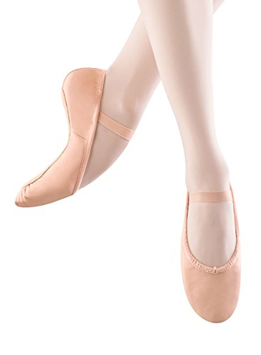 Bloch Dance Women's Dansoft Full Sole Leather Ballet Slipper/Shoe, Pink, 3 Narrow -
