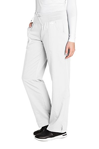 Grey's Anatomy Active 4276 Yoga Pant White M by Barco