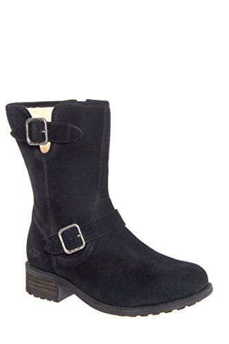 ugg-australia-womens-chaney-suede-boot-black-suede-size-65
