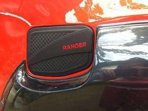 Taishuai 4x4 Pickup Car Abs Matte Black Color Fuel Tank Cover For Ford Ranger wildtrak 2012 2018