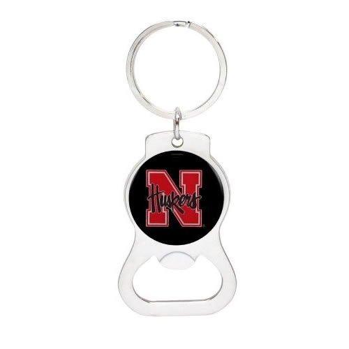 (NCAA University of Nebraska Bottle Opener Keychain (AM) )