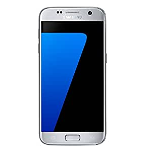 Samsung Galaxy S7 Factory Unlocked Phone 32 GB - Internationally Sourced (Middle East/African/Asia/EU/LATAM) Version G930F- Titanium Silver