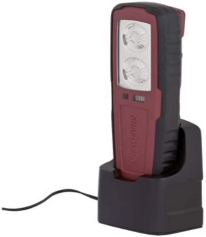 1 W Kraftwerk 32014 2x1 W Power-LED-Akku-Handlampe 3.7 V rot Einheitsgr/ö/ße
