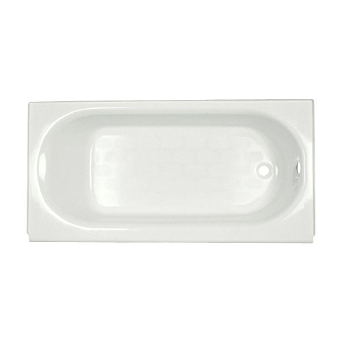American Standard 2391.202.020 Princeton Recess 5-Feet by 30-Inch Right-Hand Drain Bath Tub, White