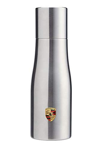 (Genuine Porsche Double Walled Stainless Thermal Travel To-Go Tumbler Mug)
