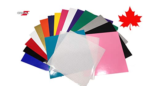 ORACAL 651 Adhesive Vinyl Sheets for Cricut vinyl projects (16-12