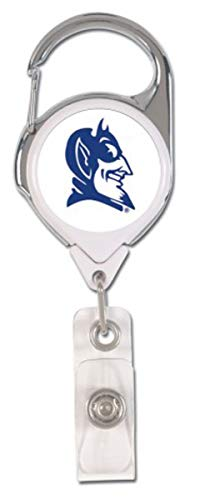 Duke Blue Devils Hat Clip - WinCraft Duke Blue Devils Premium Badge Reel Id Holder