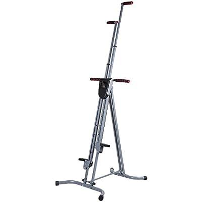 Formulatwoo Vertical Climber,Foldable Cardio Step Machine Exercise Equipment,Exercise Fitness Vertical Climber Exercise Machine,Workout Gym Equipment Climbing Machine