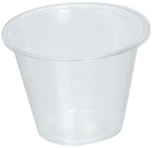 1 Oz. Plastic Medicine Cups Medline 1fl. Oz. Polypropylene Plastic Medicine Cups, Sleeve of 100