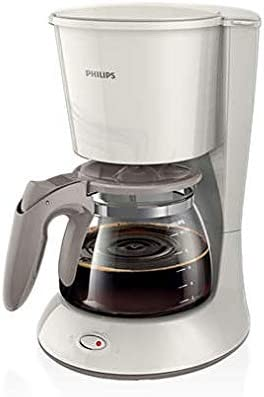 فيليبس، ماكينة صنع قهوة، 1000 واط، 1.2 لتر، أبيض/ بيج