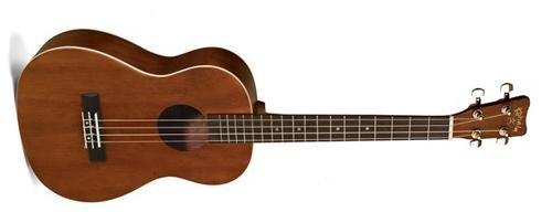 - Kohala AKAMAI AK-BAE Acoustic/Electric Baritone Ukulele with Passive Pickup