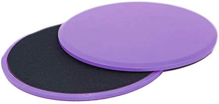 Fitness Slide Gliding Discs Coordination Ability Fitness Exercise Sliders Purple