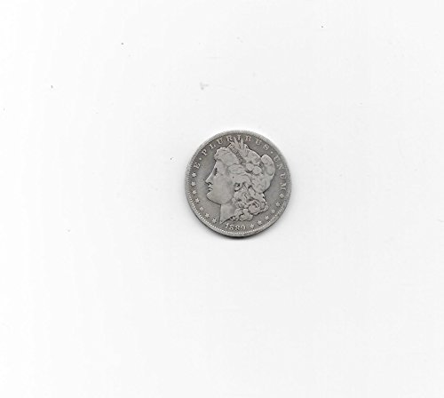 1889 -O MORGAN SILVER DOLLAR-----NICE AFFORDABLE PROBLEM-FREE----VERN'S CARD & COIN Dollar F (1889 Morgan Dollar Silver Coin)