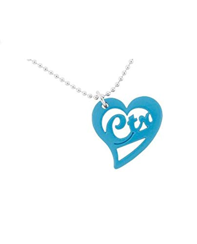 K10 LDS Girl's CTR Necklaces Love Blue One Moment in Time (Owl Ctr Necklace)