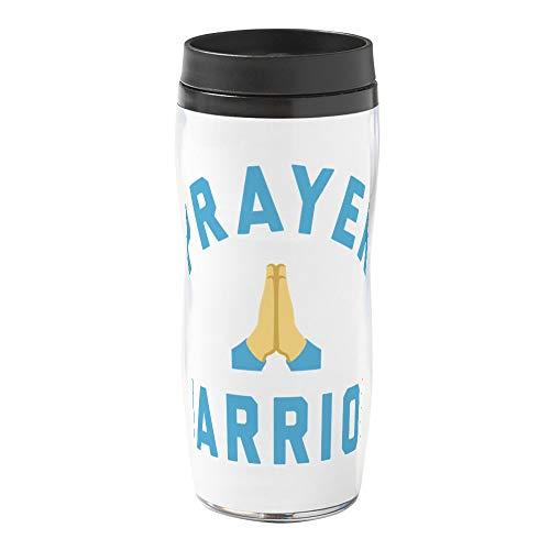 CafePress Emoji Prayer Warrior 16 oz Travel Mug