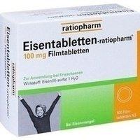 Eisentabletten ratiopharm N 50 mg Filmtabletten 100 stk