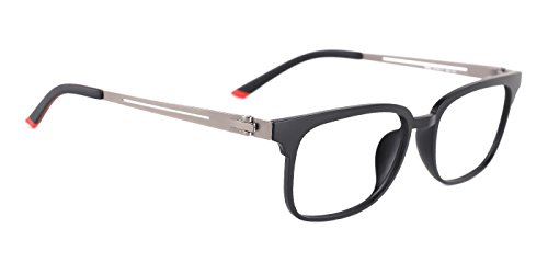TIJN Unisex Chic Metal Arm Eyeglasses Rx-able Eyewear