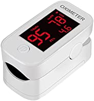 Finger Ox-imeter Monitor, for Children and Adult, Small Size, White