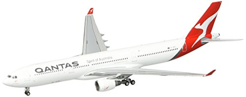 Gemini Jets Qantas A330-300 (New 2017 Livery) Vh-Qpj 1:400 Scale Airplane Model (New Livery A330 300)