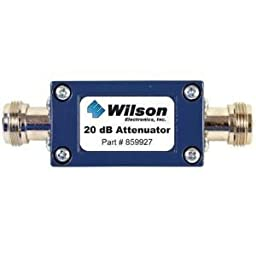 Wilson Electronics 20 dB Attenuator with N Female Connectors