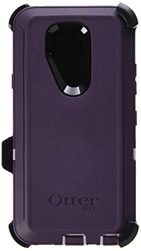 OtterBox Defender Series Case for LG G7 ThinQ - Retail Packaging - Purple Nebula (Winsome Orchid/Night -