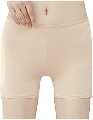 HEZHYDNY Pantalones Cortos de Seguridad sin Costuras de algodón ...
