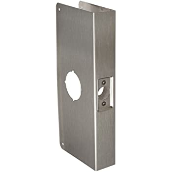 Don-Jo 12-CW 22 Gauge Stainless Steel Classic Wrap-Around Plate  sc 1 st  Amazon.com & Don-Jo 12-CW 22 Gauge Stainless Steel Classic Wrap-Around Plate ...