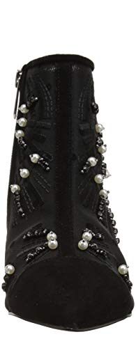 Abstract Embroidery Sam Fashion Edelman Black Wave Boot Women's Kami xnqw7npvO